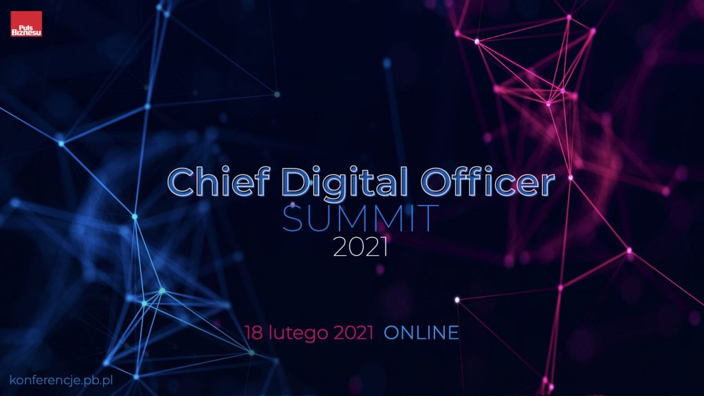 chief digital officer summit conference Poland 2021